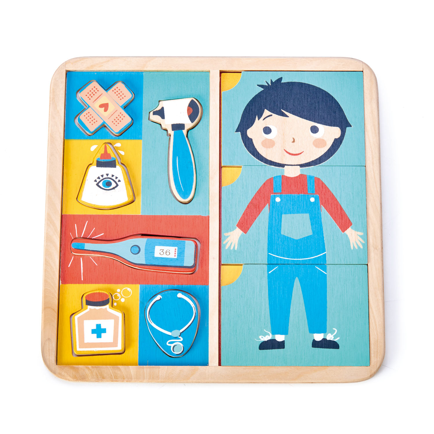 Ouch Body Puzzle