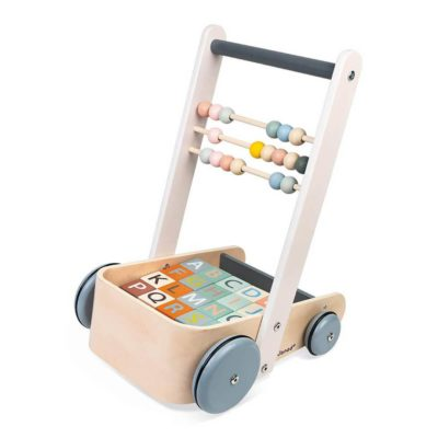 sweet cocoon cart and blocks