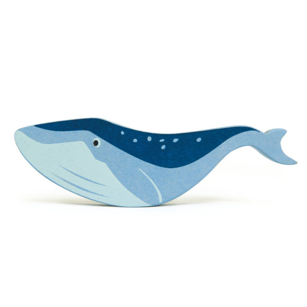 Wooden Blue Whale