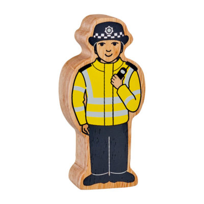 Policewoman Toy Figure