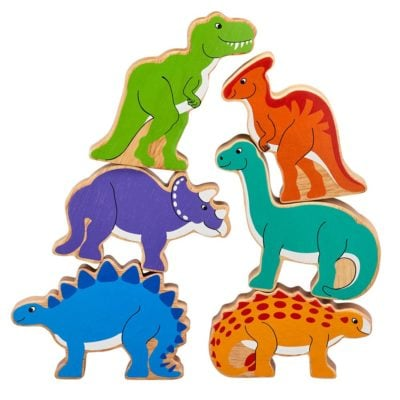 Dinosaur Toy Figures x 6