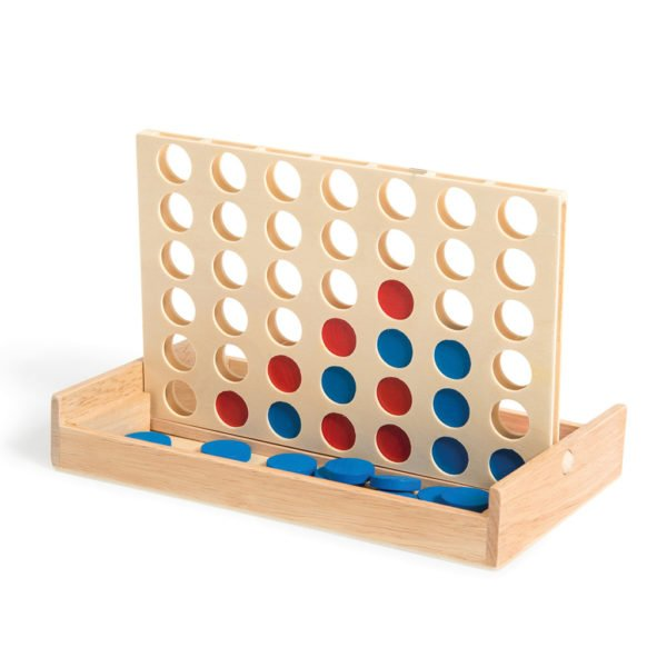 Wooden Connect Four Game