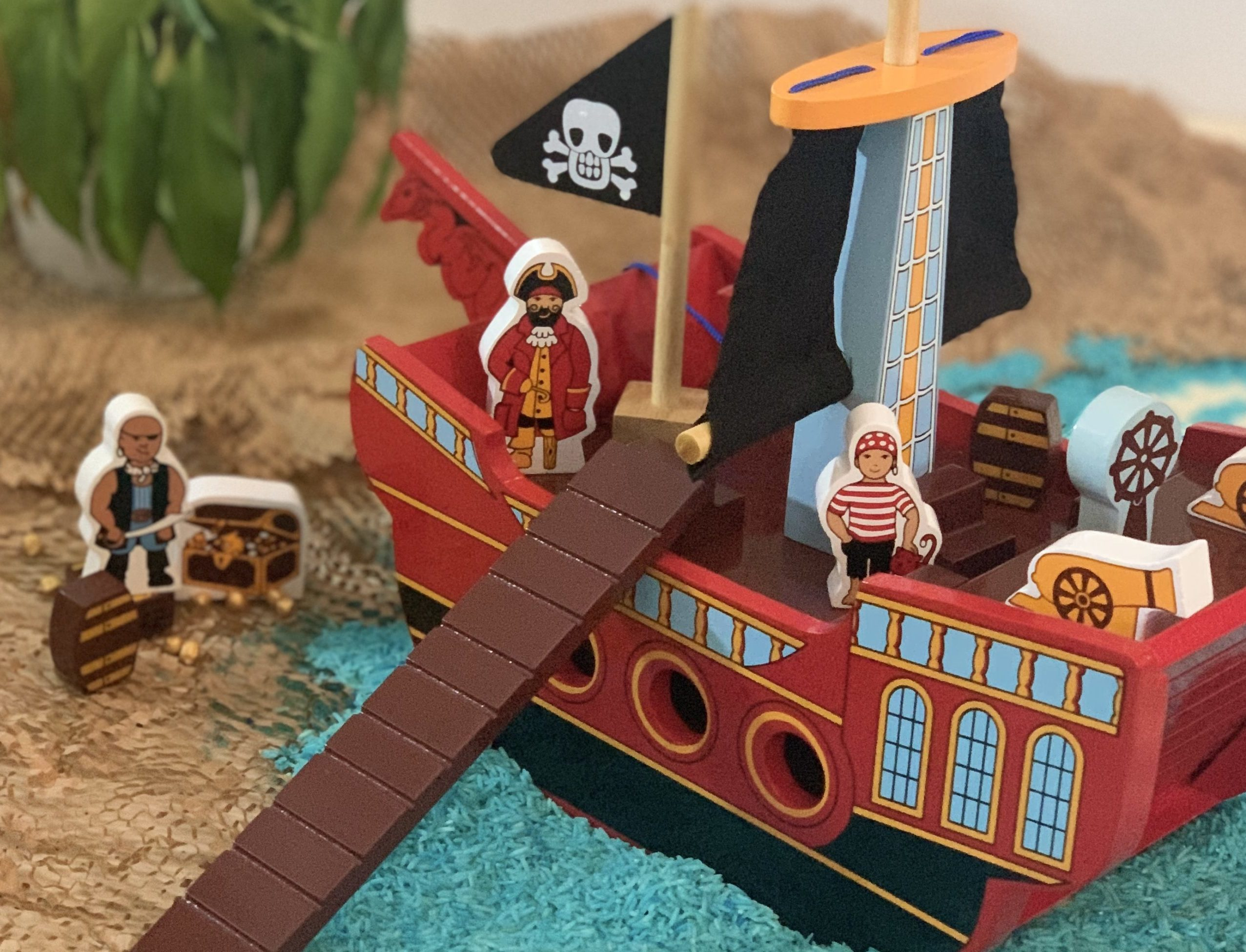Pirate Ship Rice Base