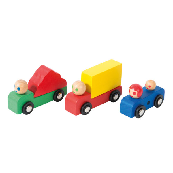 Wooden Trucks and Car