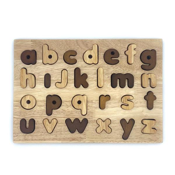 Natural Alphabet Puzzle