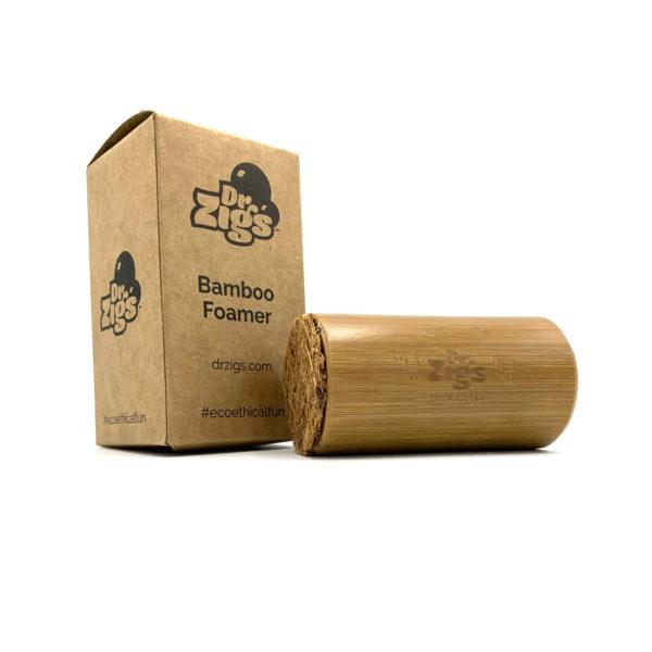Bamboo Bubble Foamer with Box