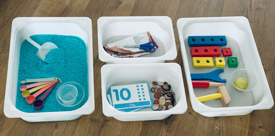 Homeschooling Busy Boxes