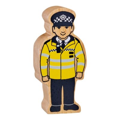 Policeman Toy Figure