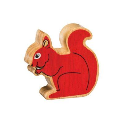 Red Squirrel Figure