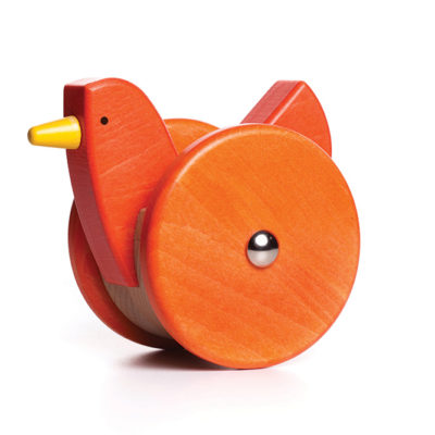 Orange Wobbling Chicken