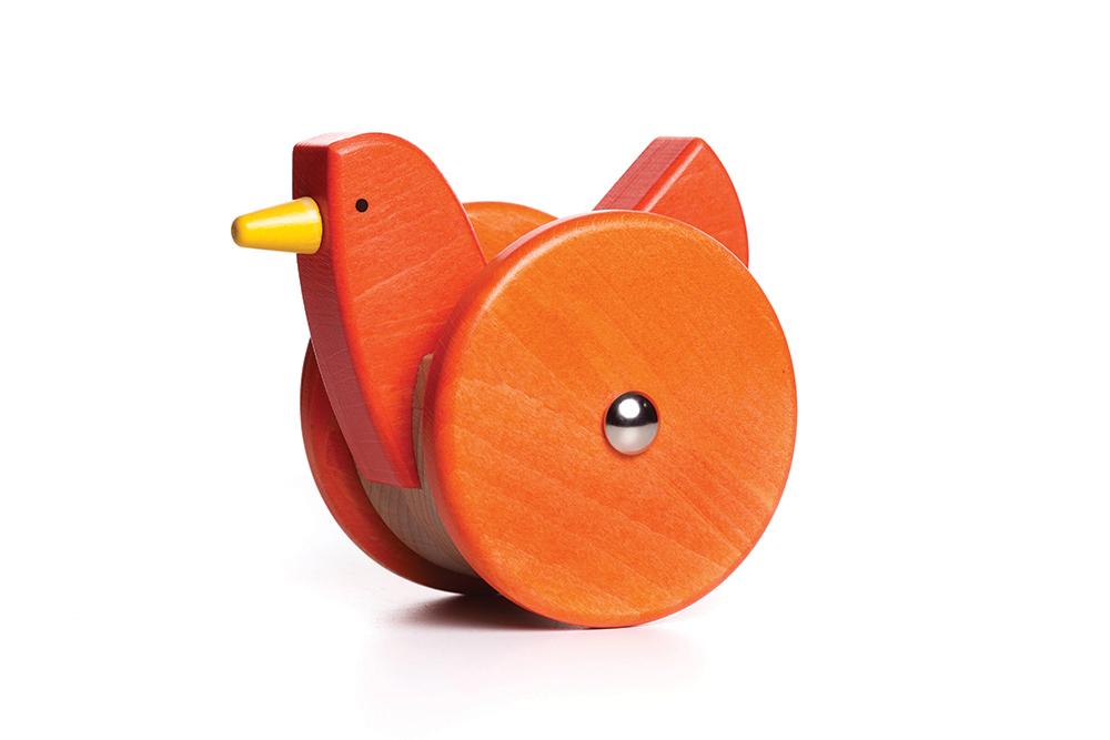 Orange Wobbling Chicken-chicken