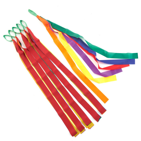 Rainbow Dancing Ribbons