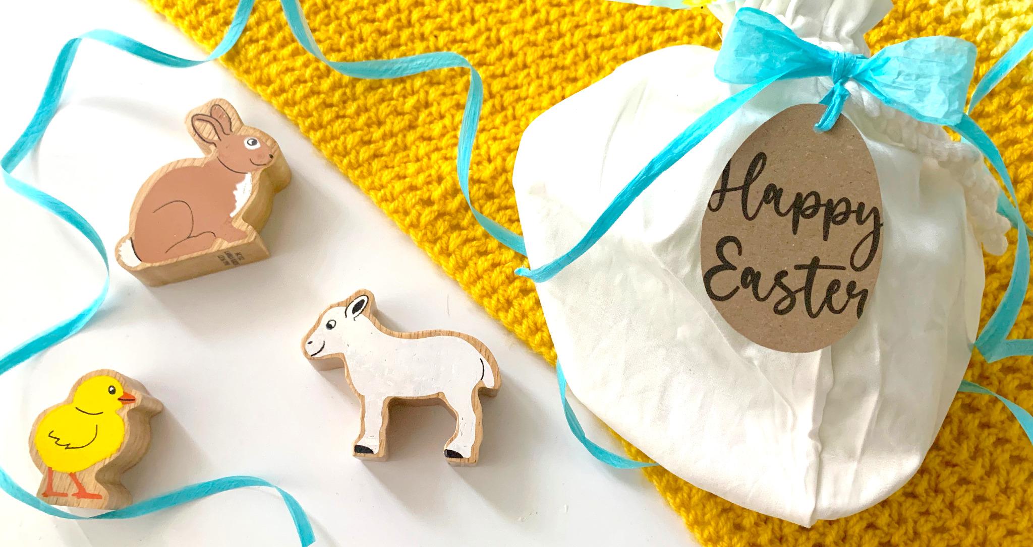 Easter Animals Gift Bag