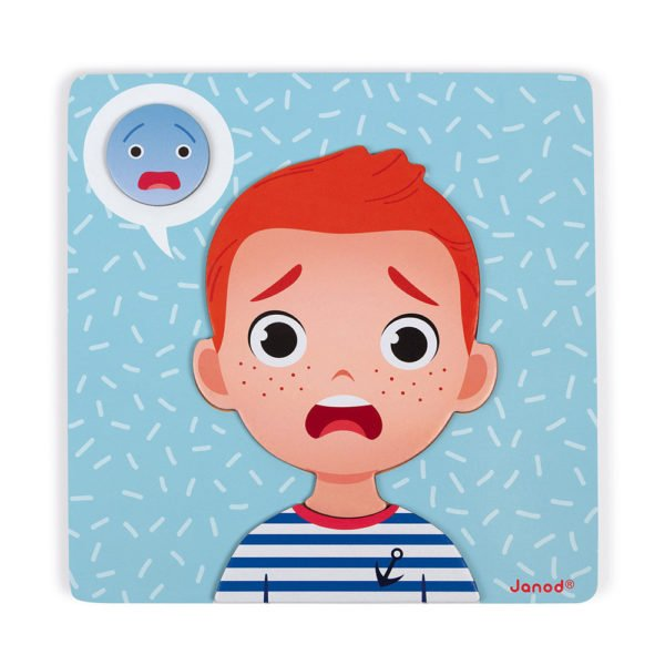 Emotions Magnetic Game Frightened