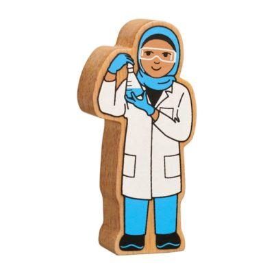 scientist figure