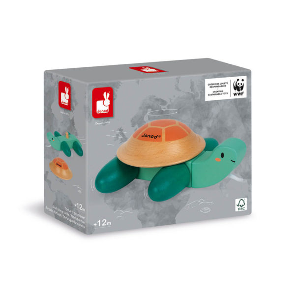 Pull Along Turtle Box