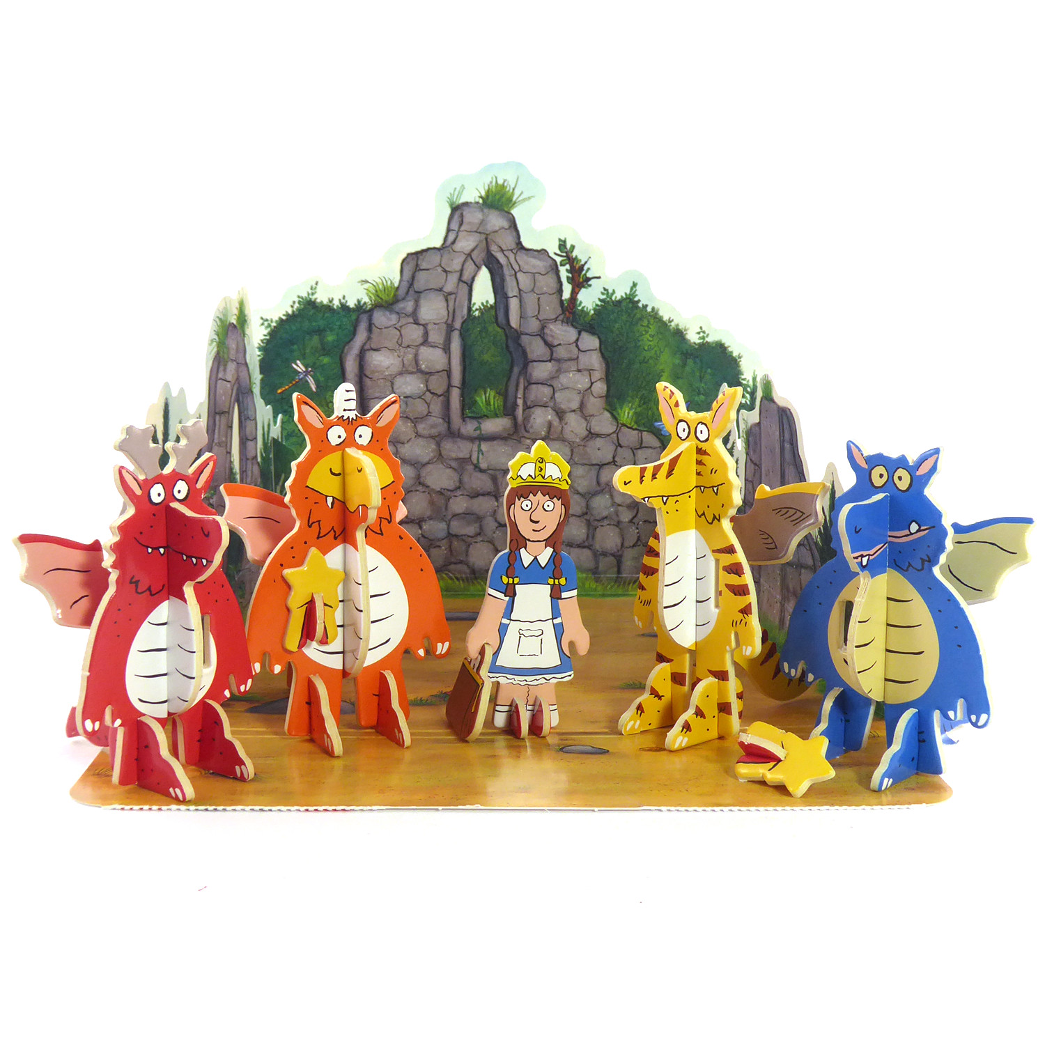Zog Pop-Out Playset