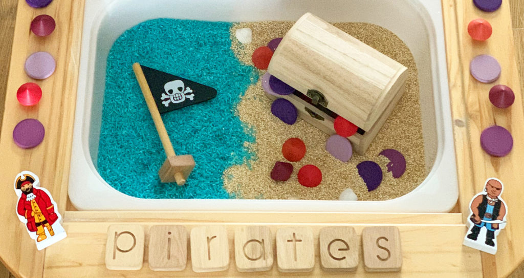 Loose Parts - Pirate Play