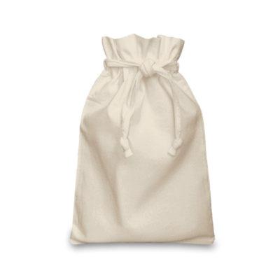 Natural Cotton Double Drawstring Bag