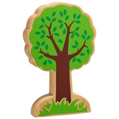 Wooden Green Tree