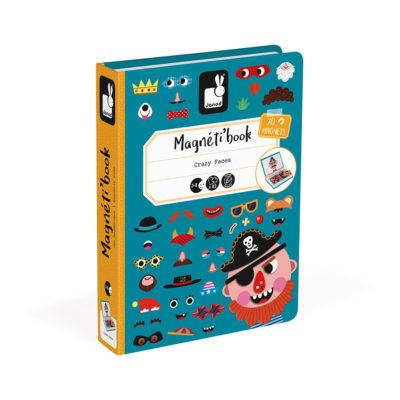 Magneti' Book Boy's Crazy Faces