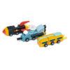 Space Race Set showing vehicles