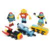Space Race Set with Robot Construction Set