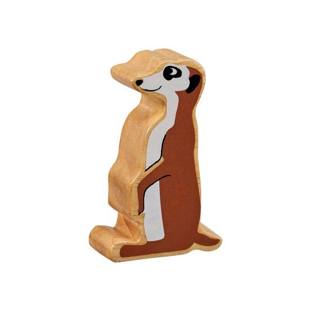 Wooden Meerkat Figure