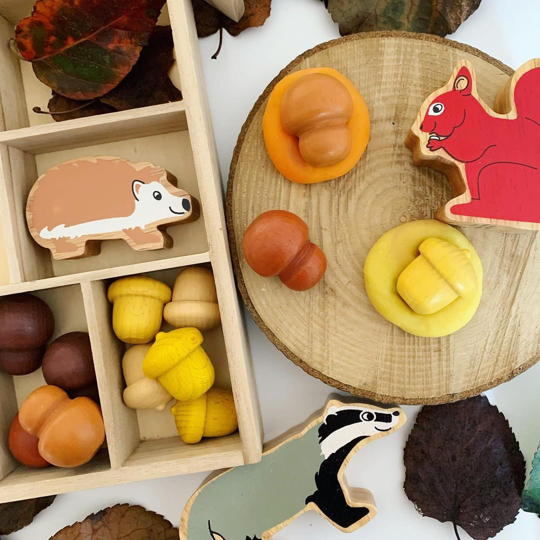Autumn Bundle Play Dough & Loose Parts
