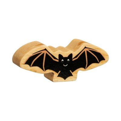 Wooden Bat Figure