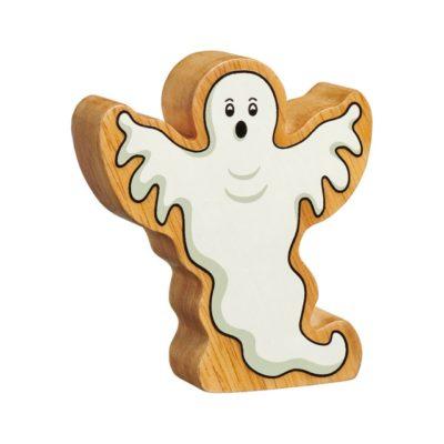 Wooden Ghost Figure