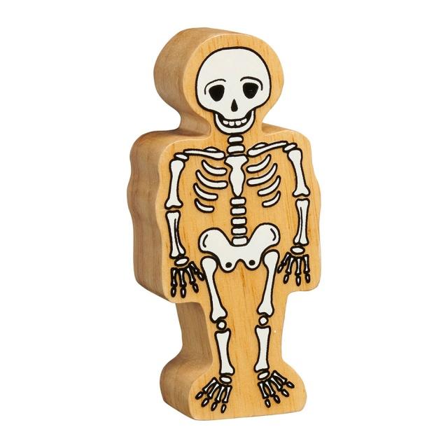 Wooden Skeleton Figure