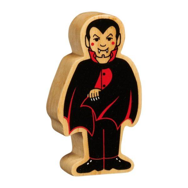 Wooden Vampire Figure