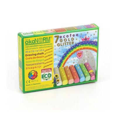Drawing Glitter Chalks in box