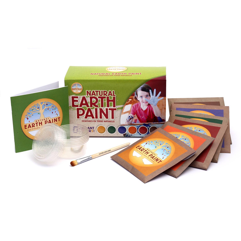 Natural Earth Paint Set