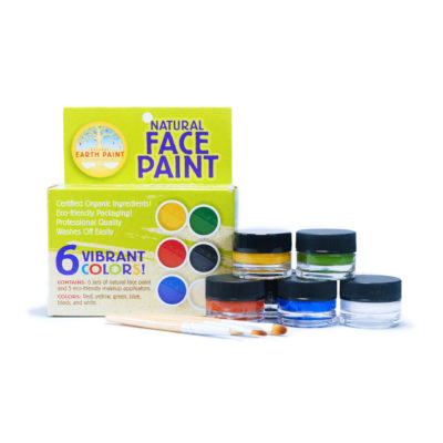 Natural Earth Face Paint set of 6