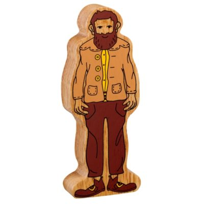 image show wooden giant figure